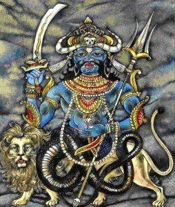 Hindu Demon - Rahu