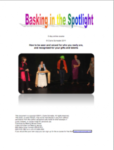 basking11 228x300 Article: Shining Your Light   promote yourself with ease