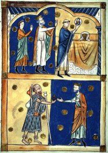 Middle Age depiction