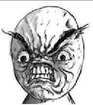 Angry face - Cartoon