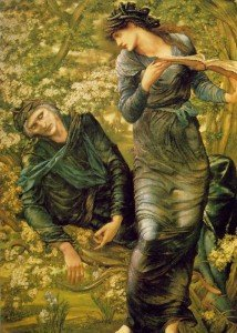 Edward Burne Jones - The Beguiling of Merlin