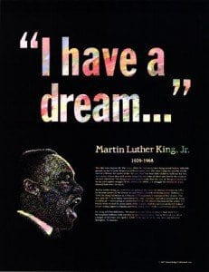 Great black americans - Martin luther king