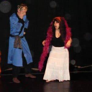 Lela liberating herself as Medea