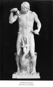 Primitive Man - Statue